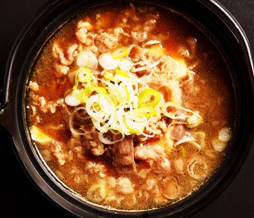 米沢牛肉豆腐